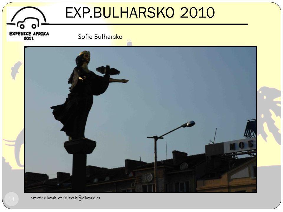 EXP.BULHARSKO 2010 www.dlavak.cz/dlavak@dlavak.cz 10 Start EXP.Bulharsko 2010 Praha