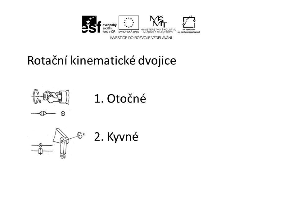 • Kinematické řetězce Vzájemně spojené kinematické dvojice stroje průmyslového robota tvoří kinematický řetězec – kinematickou strukturu průmyslového robota.