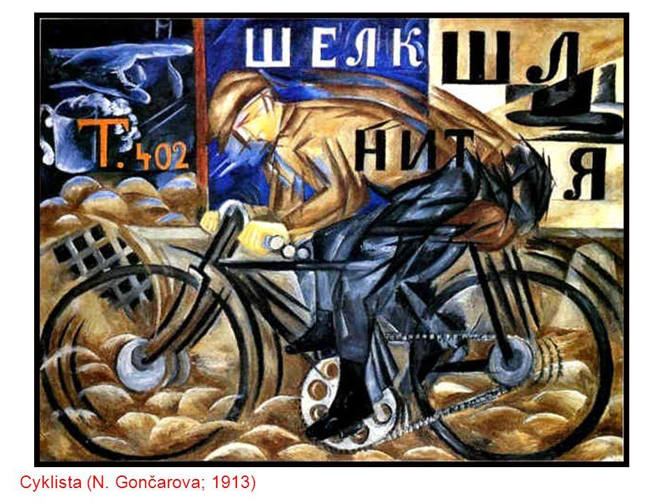 Akt sestupující ze schodů (Duchamp; 1912)