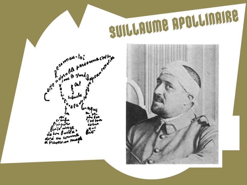 " Wilhelm Albert Wladimir Alexandre Apollinare de Kostrowitzky (1880-1918)  Básník, výtvarný kritik, propagátor kubismu  Kubofuturistická báseň ""Pás"