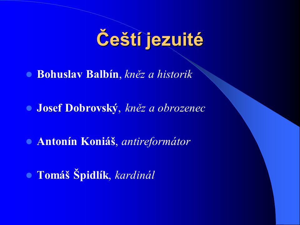 Vznikání církevních řádů  Ignác z Loyoly  24.12. 1491  31.7. 1556.