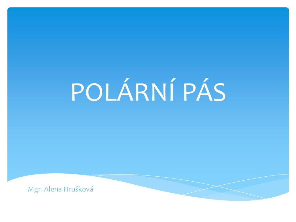 Kde se rozkládá polární pás? Kolem pólů – severního a jižního.
