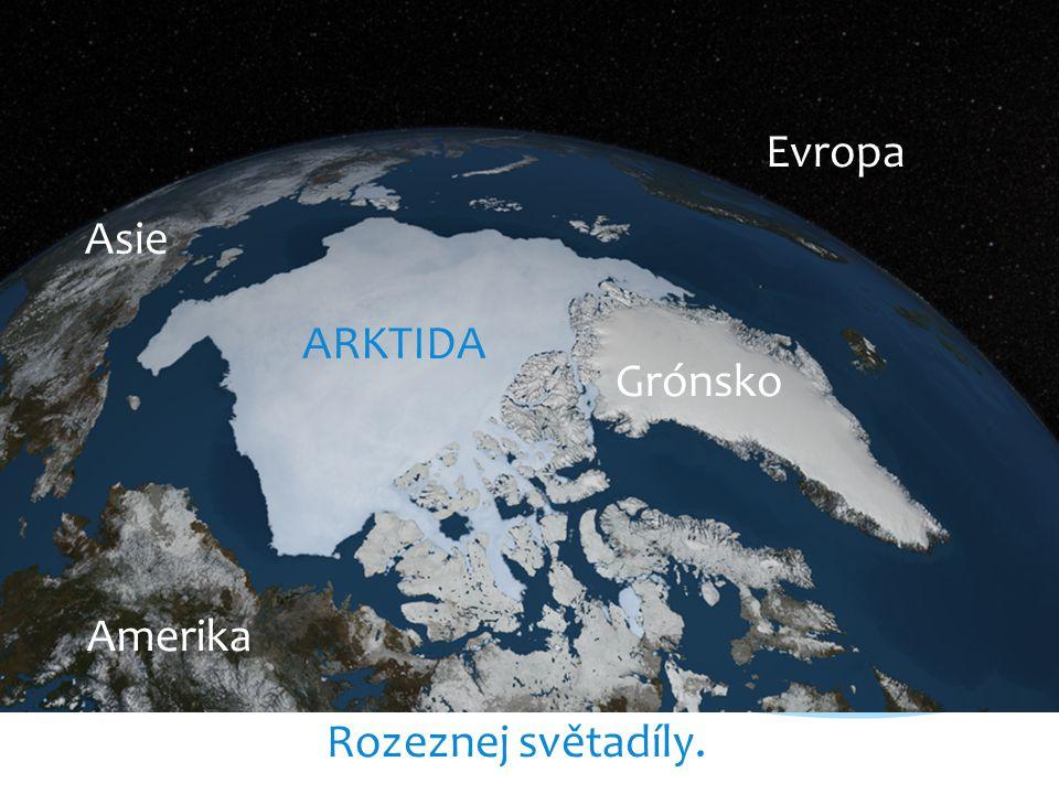 Ukaž na mapě státy, do nichž zasahuje severní polární pás. Rusko Finsko Švédsko Norsko Kanada USA