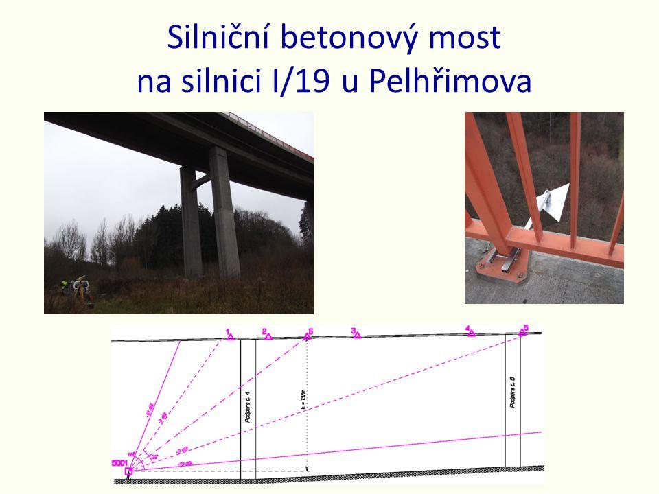 Silniční betonový most na silnici I/19 u Pelhřimova