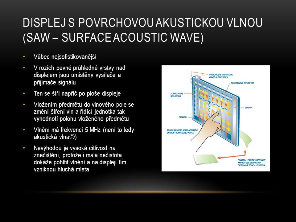 • Možný budoucí materiál pro výrobu dotykových displejů • Pružné vodivé vrstvy displeje se vyrobí z CNT UHLÍKOVÉ NANOTRUBICE