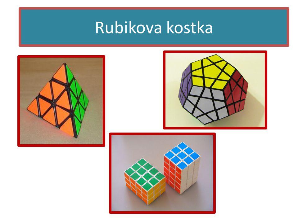 Řešení • Je mnoho metod řešení, které jsou založeny na algoritmech • Nejznámější je metoda Beginner layer by layer, kde se skládá vrstva po vrstvě • Bylo zjistěno, že jakákoliv kombinace by se měla dát vyřešit do 20 tahů Rubikova kostka - řešení