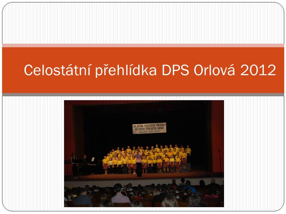 Celostátní přehlídka DPS Orlová 2012