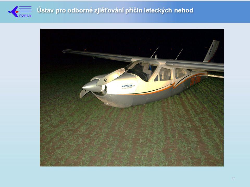 Ústav pro odborné zjišťování příčin leteckých nehod 23