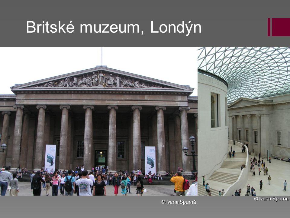 Britské muzeum, Londýn © Ivana Spurná