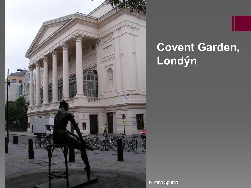 Covent Garden, Londýn © Ivana Spurná