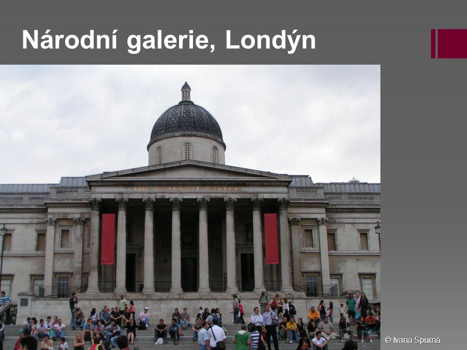 Národní galerie, Londýn © Ivana Spurná
