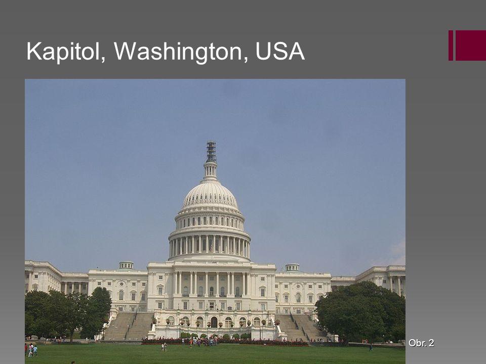 Kapitol, Washington, USA Obr. 2
