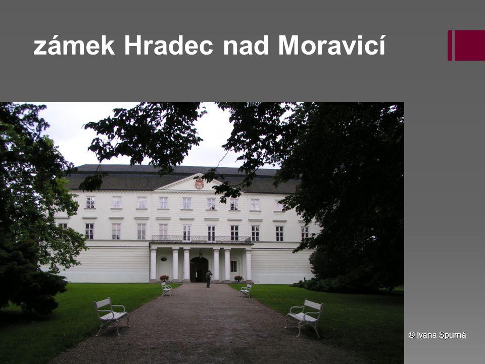 zámek Hradec nad Moravicí © Ivana Spurná