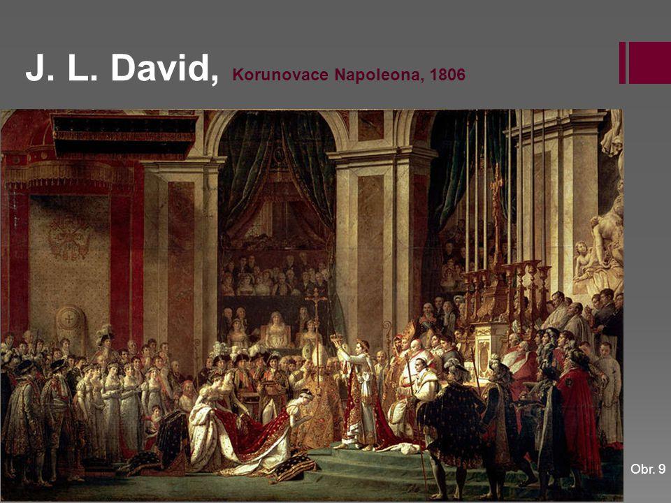 J. L. David, Korunovace Napoleona, 1806 Obr. 9