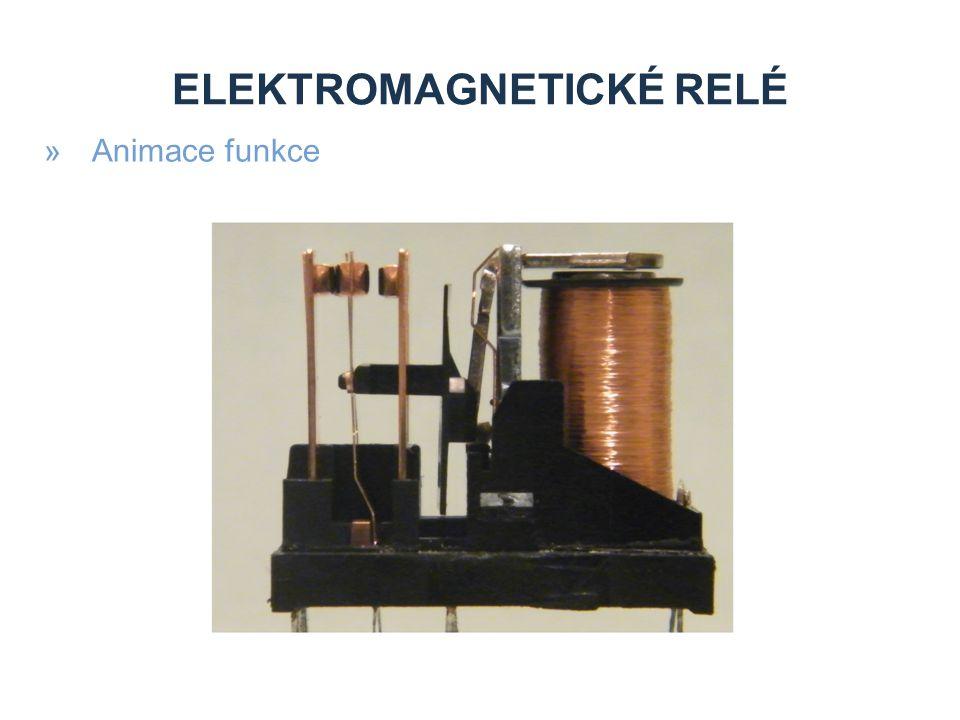 ELEKTROMAGNETICKÉ RELÉ »Animace funkce
