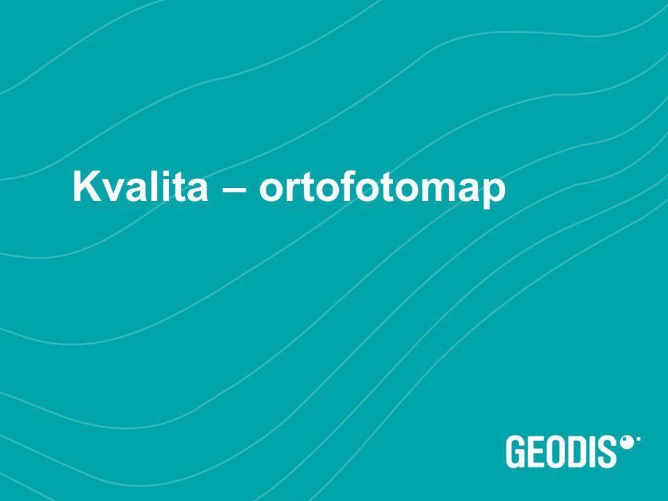 Kvalita – ortofotomap