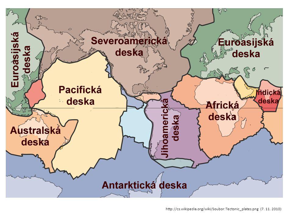 http://cs.wikipedia.org/wiki/Soubor:Tectonic_plates.png (7. 11. 2010)