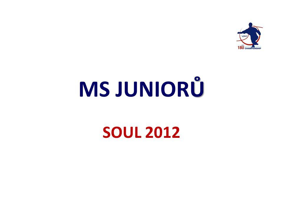 Ů MS JUNIORŮ SOUL 2012