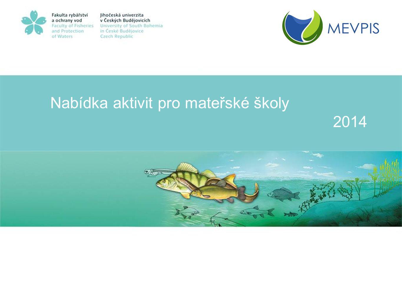 Mezinárodní environmentální vzdělávací, poradenské a informační středisko ochrany vod Vodňany Nabídka služeb: •Poradenské služby v oblasti ochrany vod, vodních živočichů a šetrného vodního hospodářství •Zajištění specializovaných výchovně-vzdělávacích kurzů, seminářů, workshopů, exkurzí a konferencí pro školy, školky, firmy, státní správu, odborníky i širokou veřejnost •Ubytování a pronájem sálu a učeben včetně doprovodných služeb