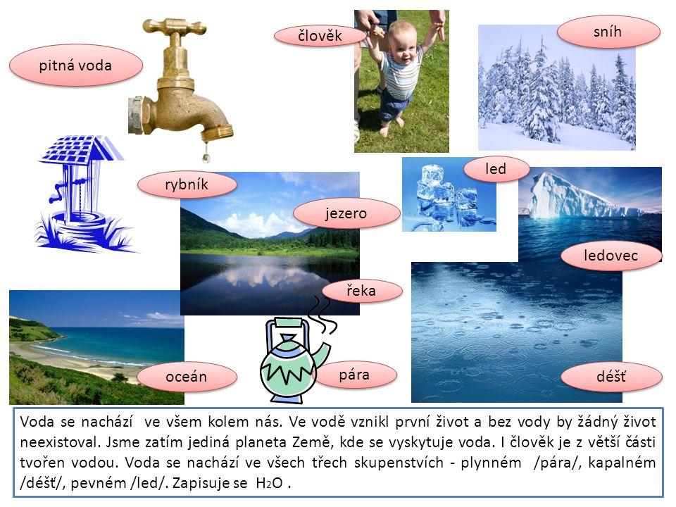 Voda se nachází ve všem kolem nás. Ve vodě vznikl první život a bez vody by žádný život neexistoval. Jsme zatím jediná planeta Země, kde se vyskytuje