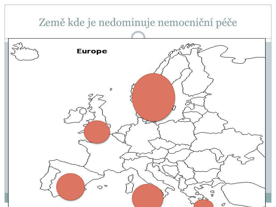 Země kde je nedominuje nemocniční péče