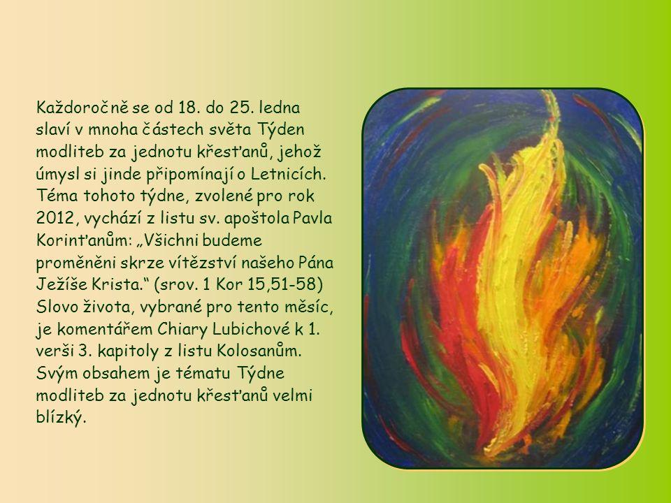 Slovo života Slovo života Leden 2012 Leden 2012