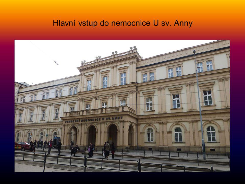 Fakultní nemocnice U SVATÉ ANNY na Pekařské ulici je druhou největší nemocnicí v Brně. Na území dnešní nemocnice existoval dominikánský klášter. Ten b