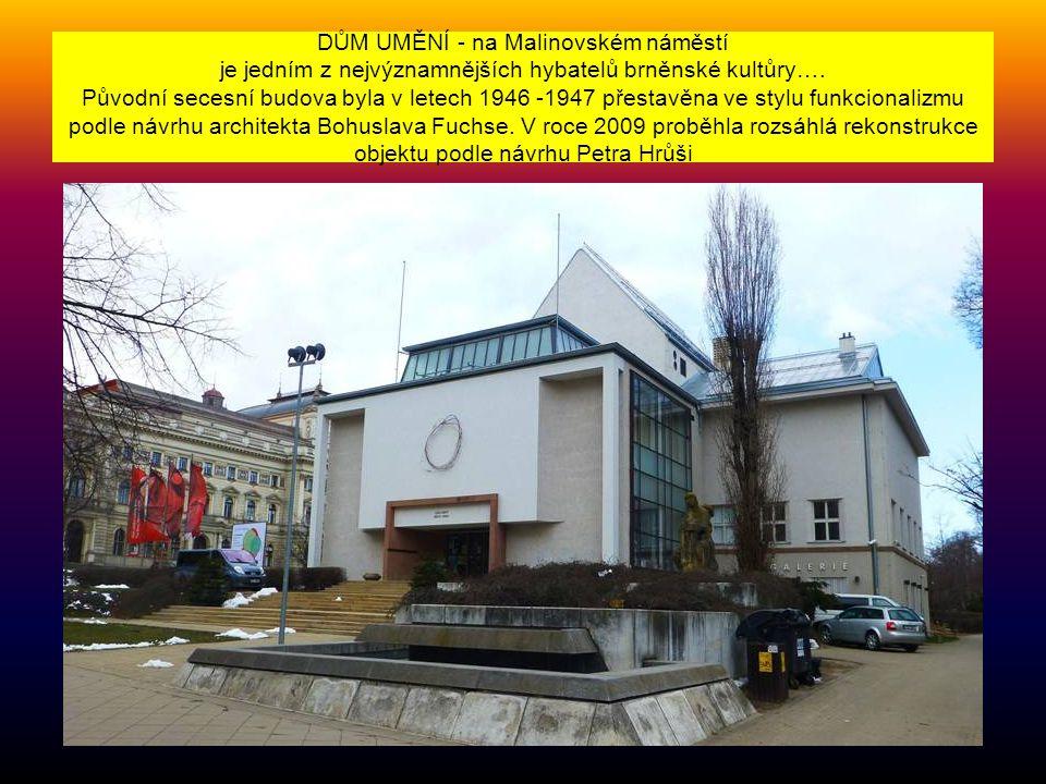 Letohrádek MITROVSKÝCH byl postaven na konci 18. století Antonínem Arnoštem Mitrovským a nachází se nedaleko brněnského výstaviště. Je to nádherný bar