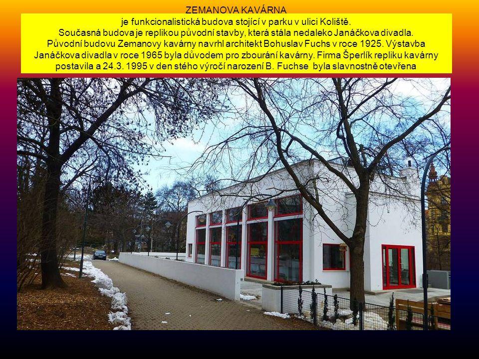 DŮM UMĚNÍ - na Malinovském náměstí je jedním z nejvýznamnějších hybatelů brněnské kultůry…. Původní secesní budova byla v letech 1946 -1947 přestavěna