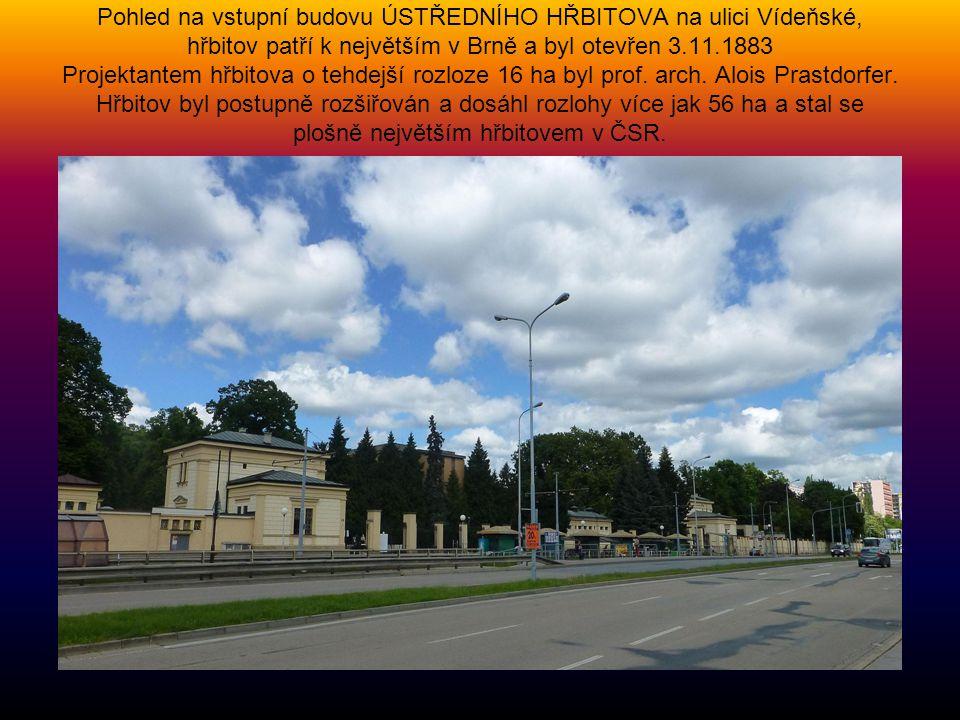 Zasněžené BRNĚNSKÉ VYSTAVIŠTĚ, foto z 25.3.2013 Podnětem k vybudování brněnského výstaviště v pisárecké kotlině se stala výstava soudobé kultury Česko