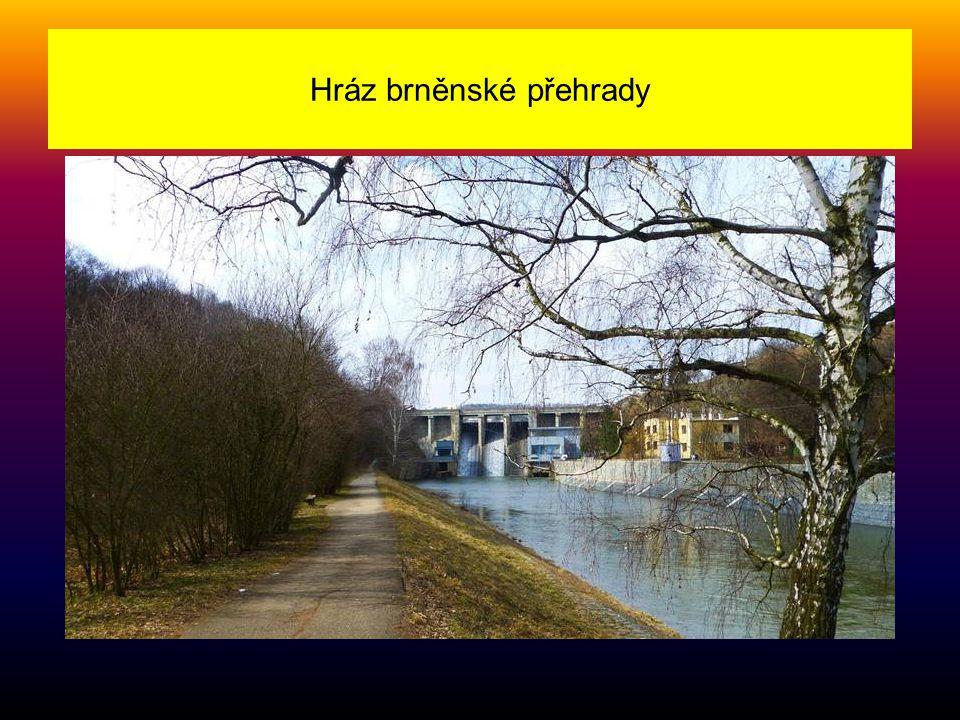 Hráz brněnské přehrady