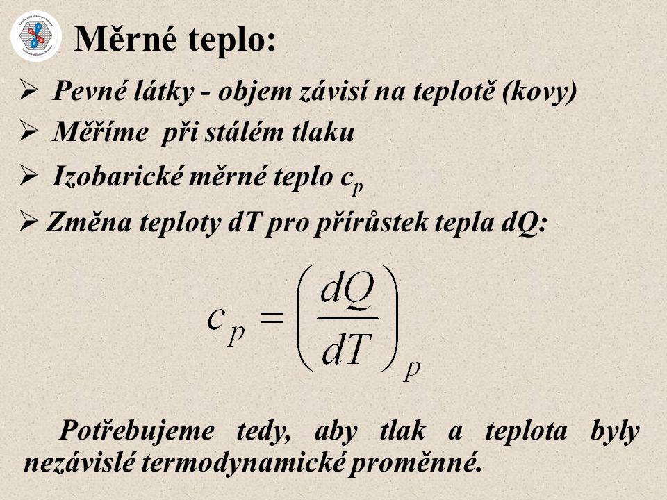 Einsteinův model:  charakteristická teplota  E odpovídající charakteristické frekvenci oscilátoru  E  n atomů / f.u.: