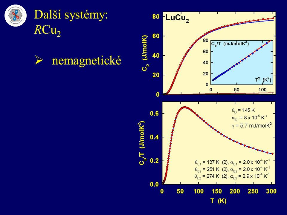 Další systémy: RCu 2  nemagnetické