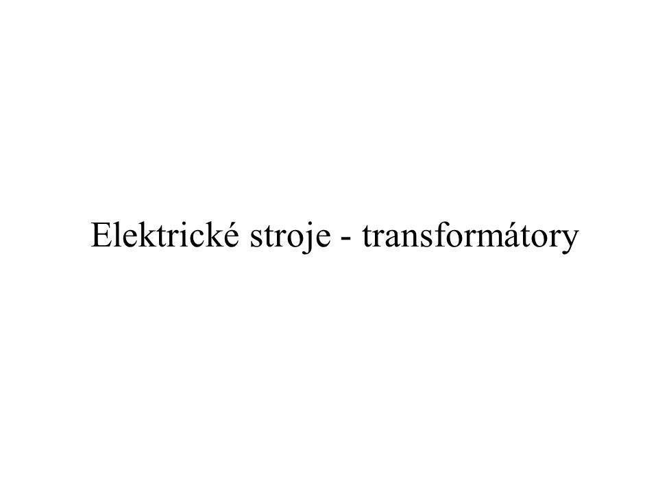 Elektrickým strojem rozumíme zařízení, které s využitím zákona elektromagnetické indukce umožňuje přeměnu jednoho druhu energie na jiný druh, přičemž alespoň jedna musí být elektrická.