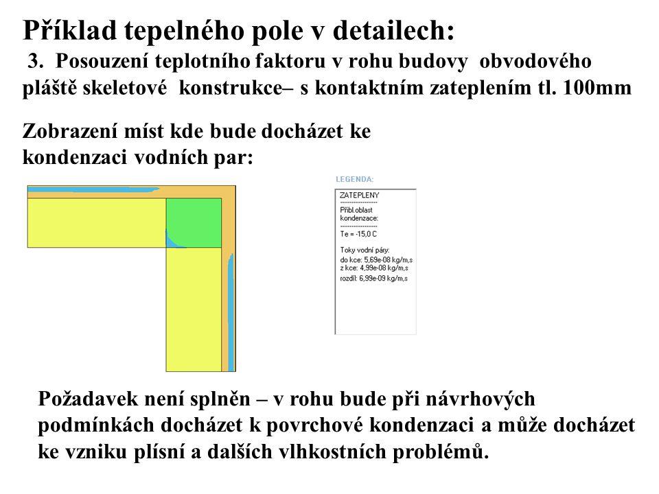 SEZNAM PŘÍLOH Příklad tepelného pole v detailech: 3.
