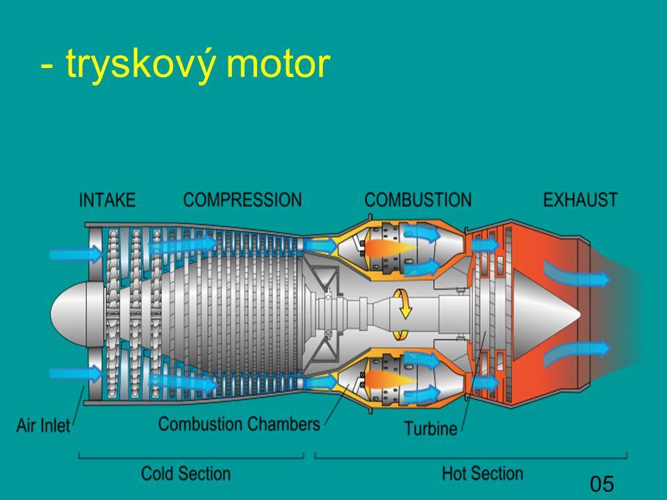 05 - tryskový motor