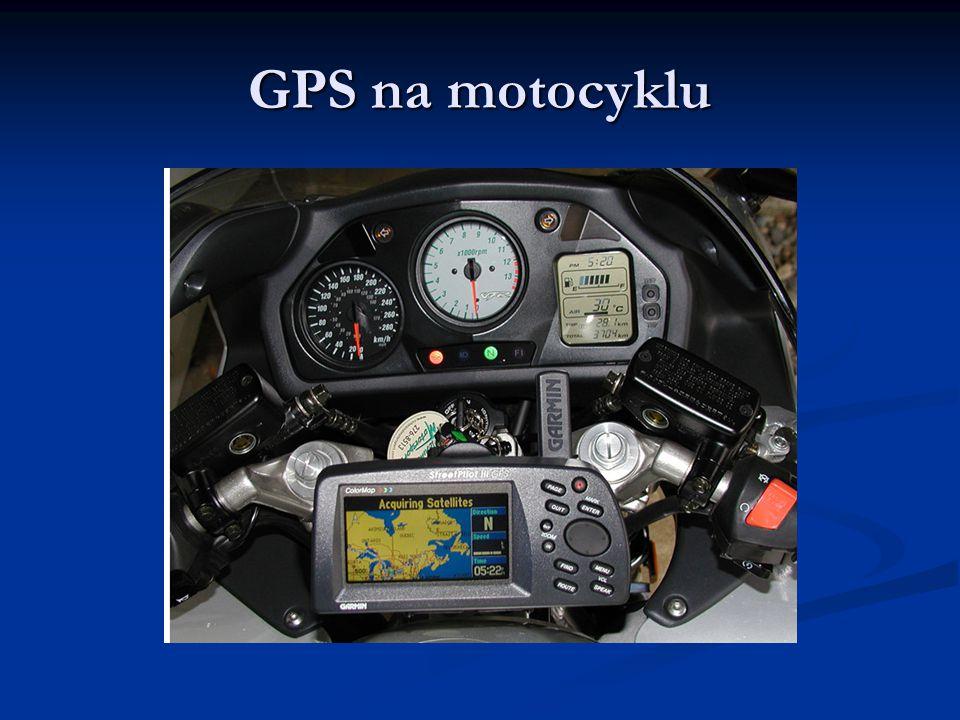 GPS na motocyklu