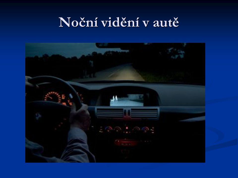 Noční vidění v autě