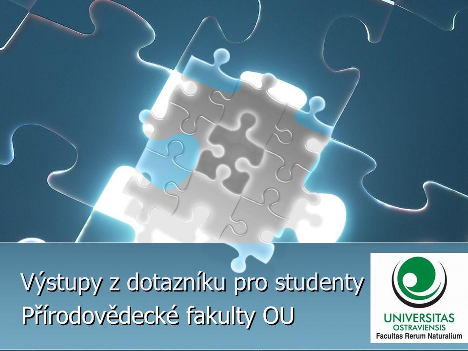 Výstupy z dotazníku pro studenty Přírodovědecké fakulty OU