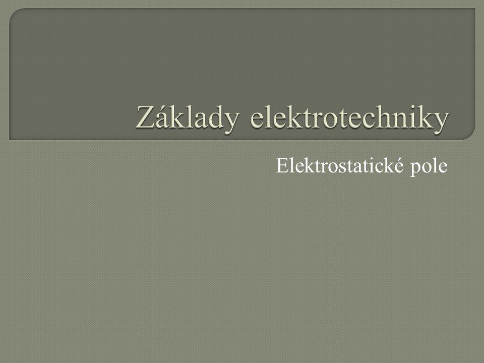 Elektrostatické pole je pole, vyvolané nepohybujícím se elektrickým nábojem nebo náboji.