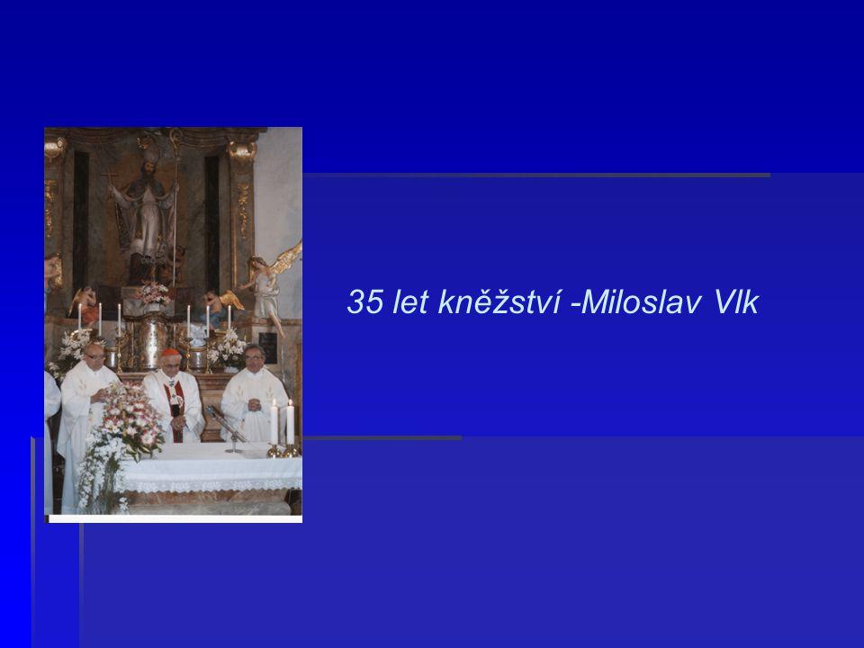 Primice 1968 na návsi v Chyškách s Františkem Pichem a Václavem Dvořákem