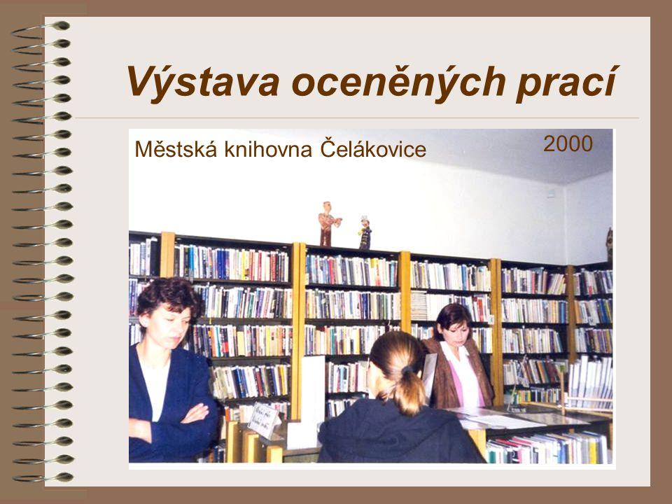 Výstava oceněných prací Městská knihovna Čelákovice