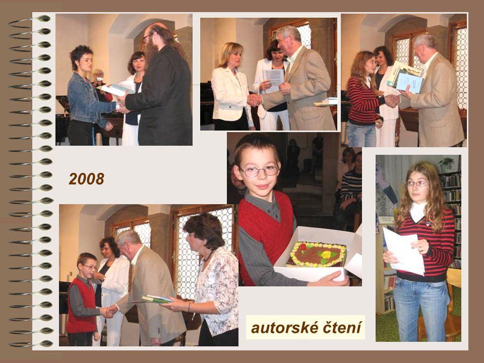 2008 autorské čtení