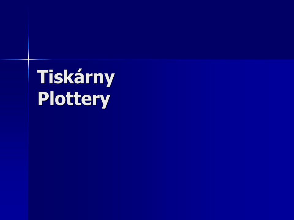 Tiskárny Plottery