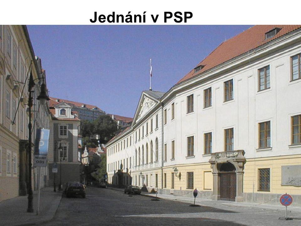 Jednání v PSP