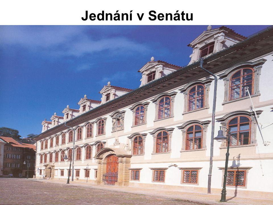 Jednání v Senátu