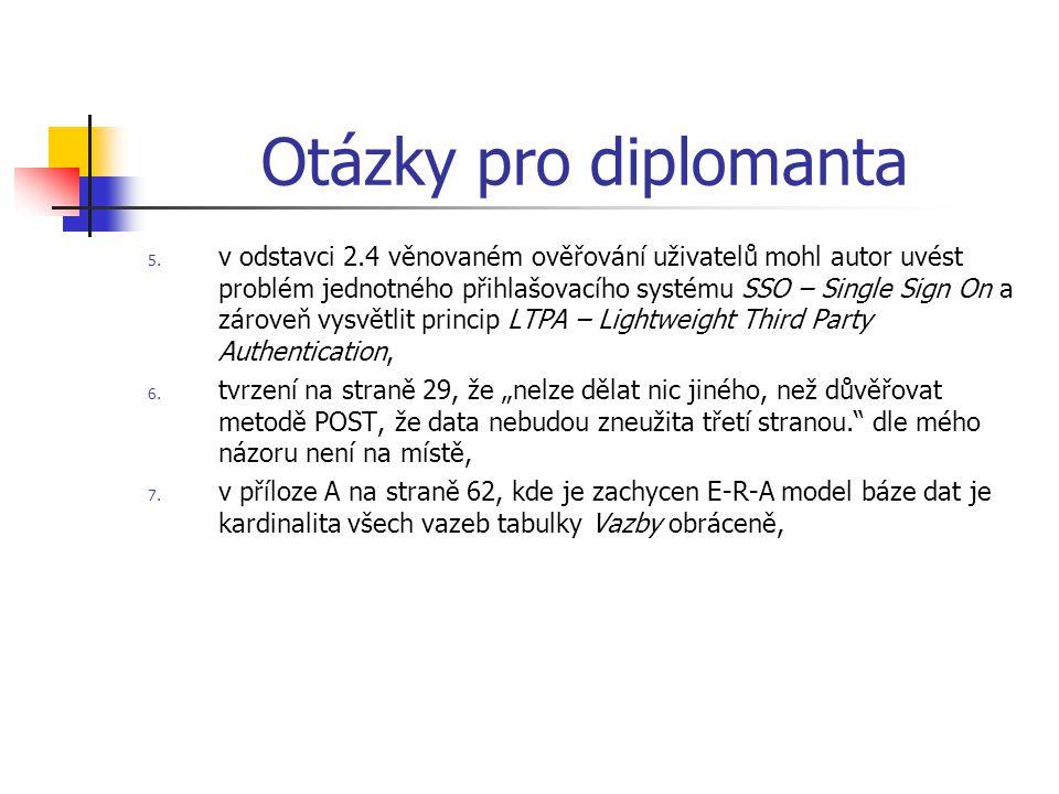 Otázky pro diplomanta 5.