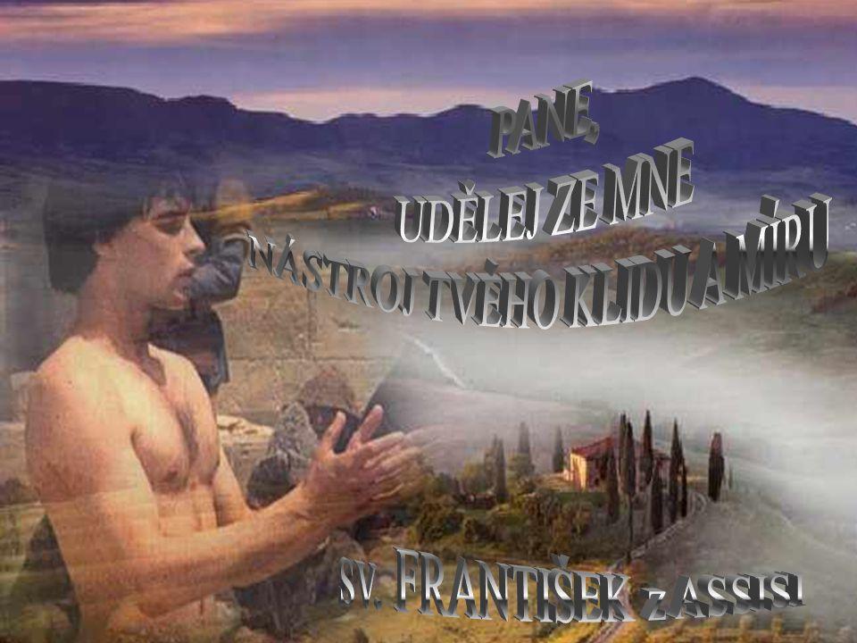František z Assisi patří mezi nejvýznamnější, nejznámější a nejoblíbenější svaté.