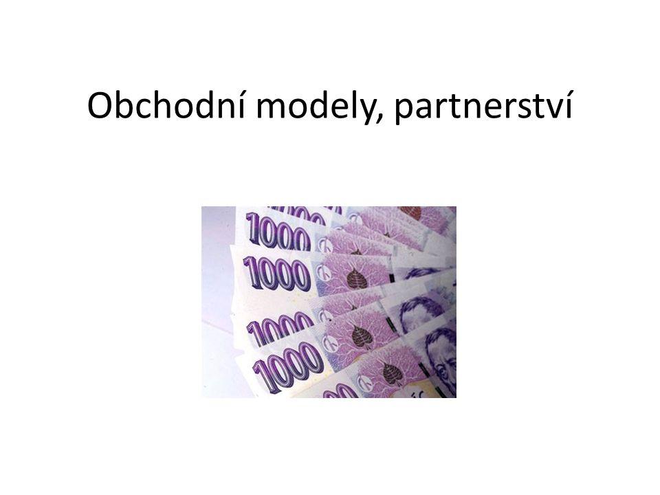 Obchodní modely, partnerství