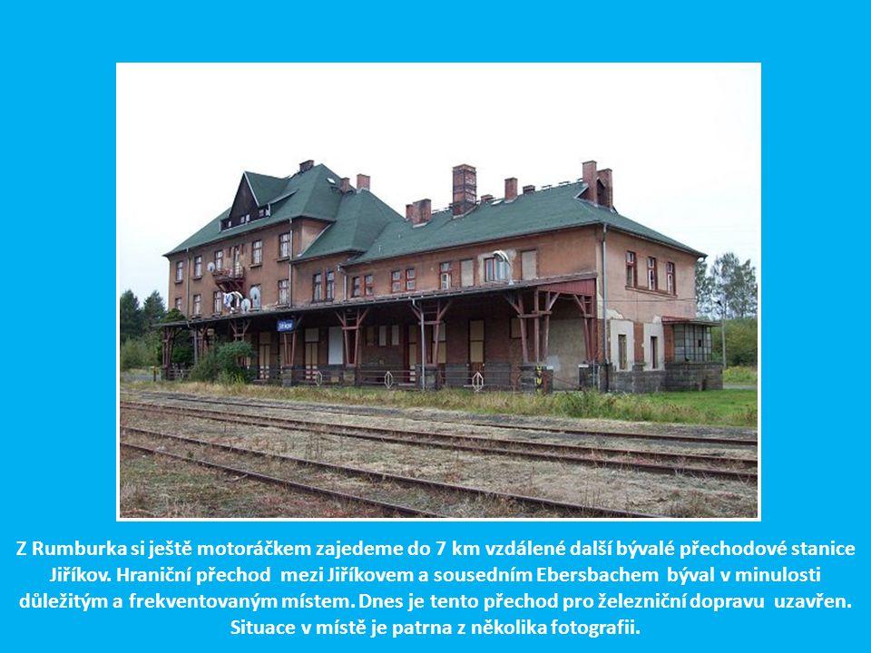 V železniční stanici Rumburk na st. 1 ověřovali v r. 1988 tři železničáři z Prahy funkci zabezpečovacího zařízení TEST C, které bylo jako první v síti